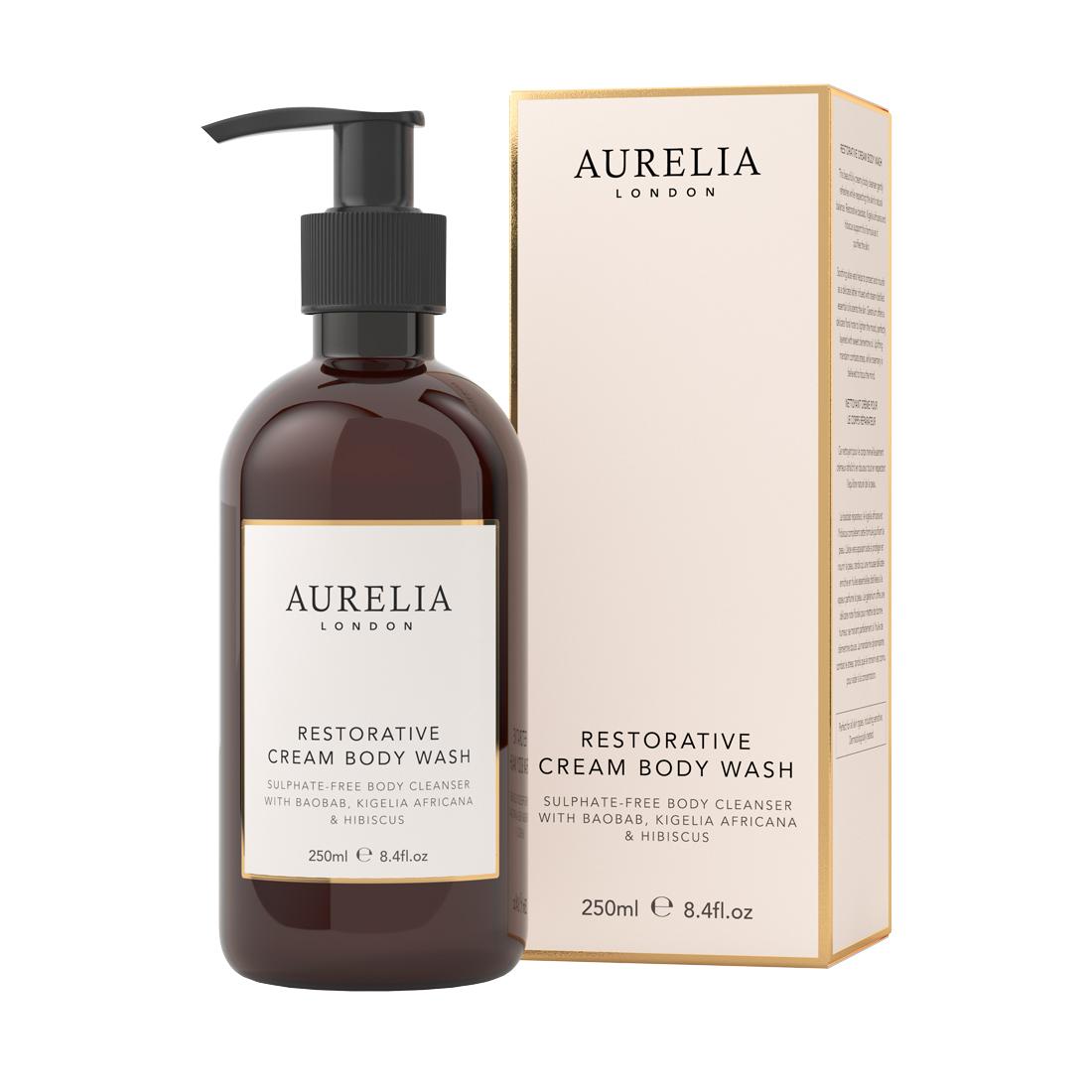 An image of Restorative Cream Body Wash 250ml Aurelia London
