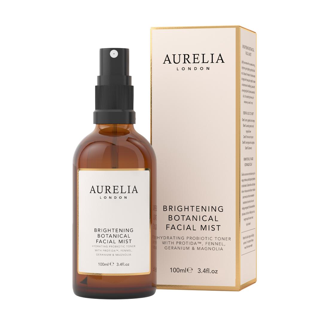 An image of Brightening Botanical Facial Mist 100ml Aurelia London