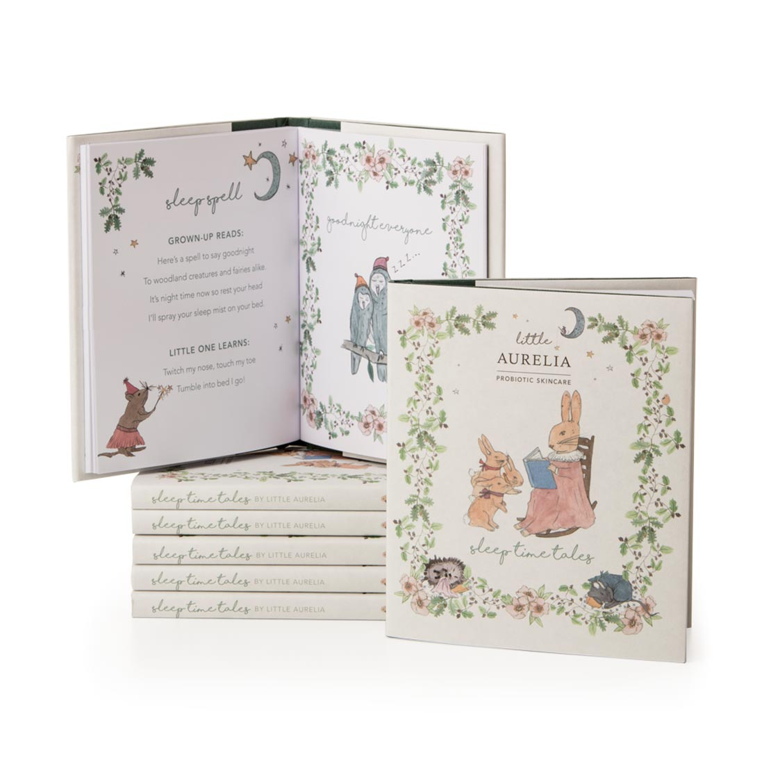 An image of Sleep Time Tales Hardback Book Little Aurelia