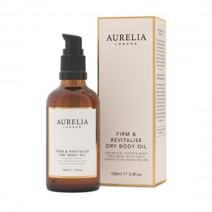 100ml Firm & Revitalise Dry Body Oil with box