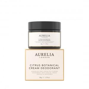 50g Citrus Botanical Cream Deodorant on top of box
