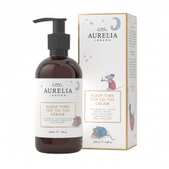 240ml Little Aurelia Sleep Time Top to Toe Cream with box