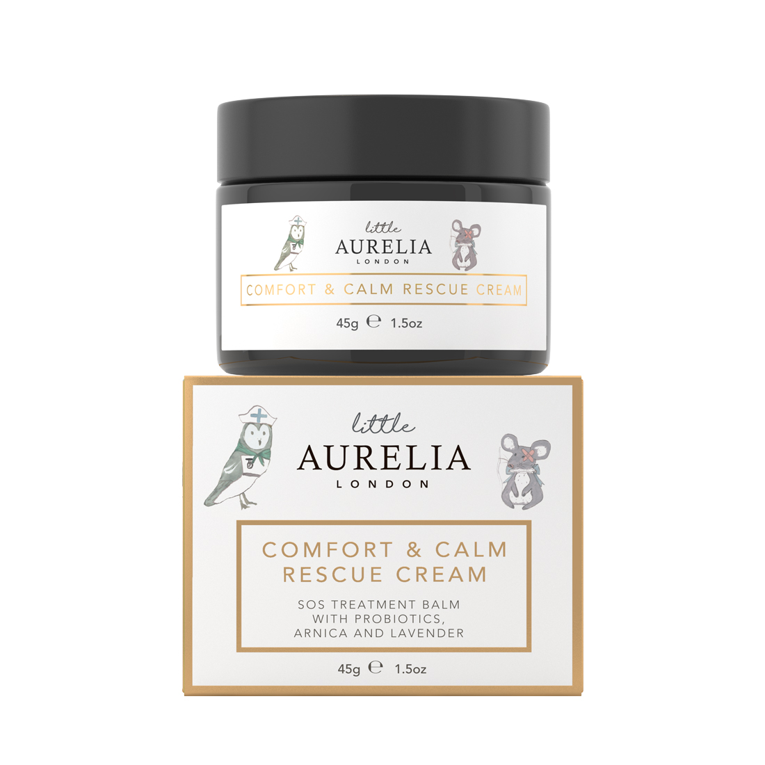 An image of Comfort & Calm Rescue Cream for Babies 45g Little Aurelia